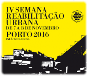 Guest lecture at the 4th Week of Urban Rehabilitation in Oporto